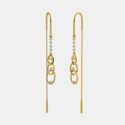 The Entwined Amour Earrings