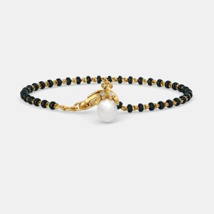 The Jagavi Mangalsutra Bracelet
