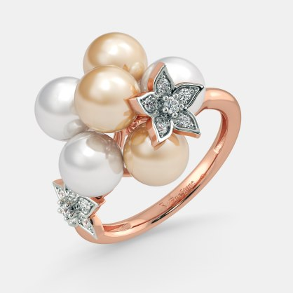 The Pearl Cloud Ring