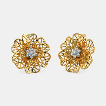 The Lilium Stud Earrings