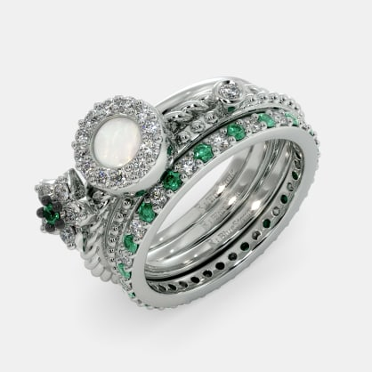 The Haala Stackable Rings