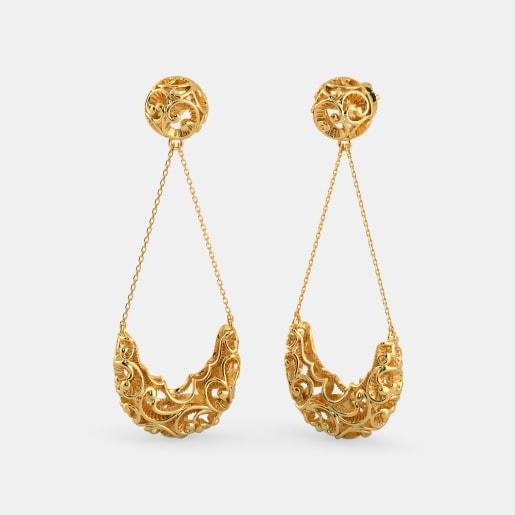 The Kundalika Drop Earrings