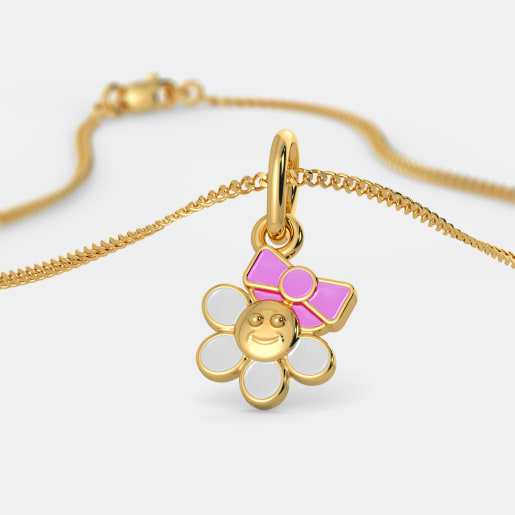 The Floral Princess Pendant For Kids