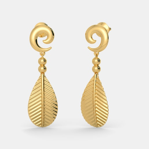 The Modish Frond Earrings