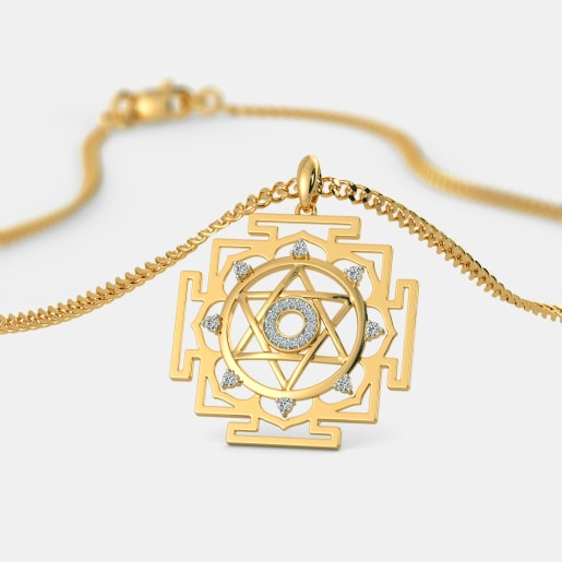 The Kuber Yantra Pendant