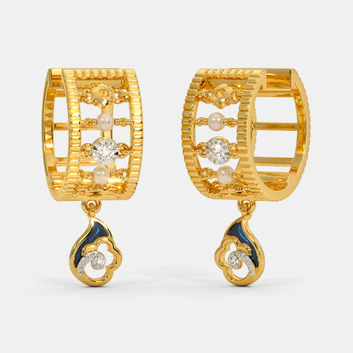 The Barlin Hoop Earrings