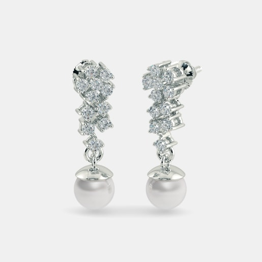 The Dazzling Floria Drop Earrings