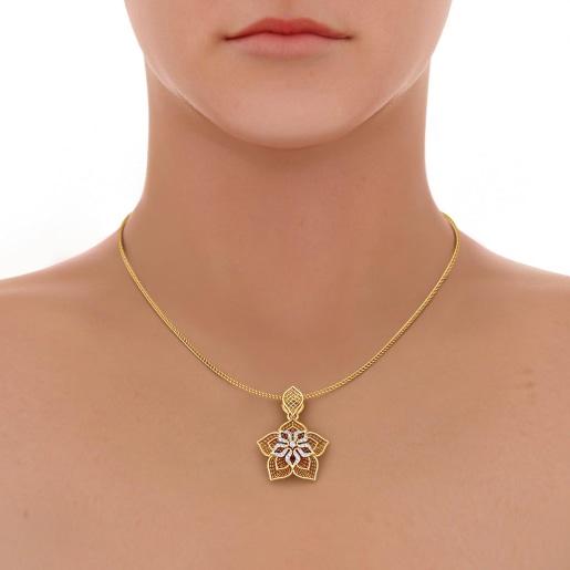 The Daffodil Lattice Pendant
