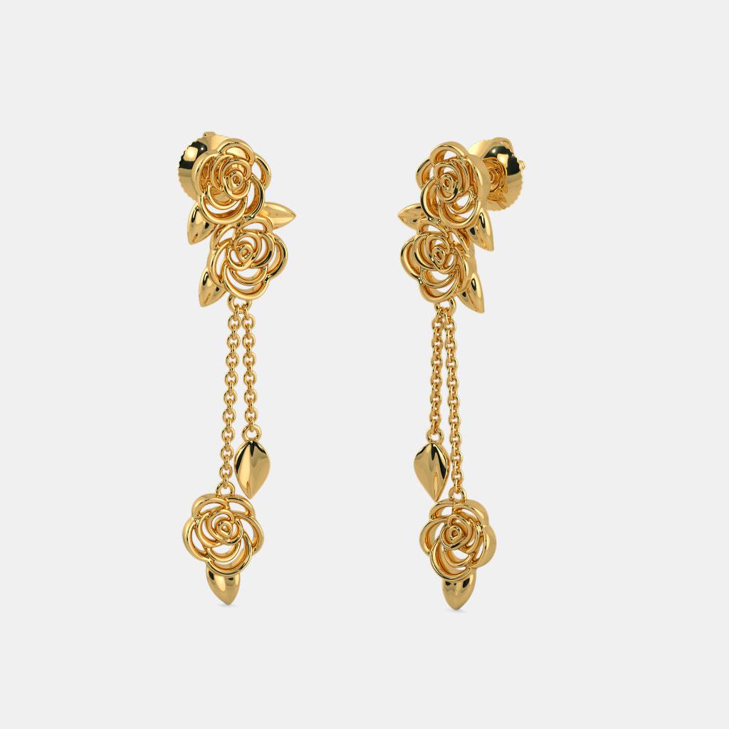 The Fragrant Love Drop Earrings