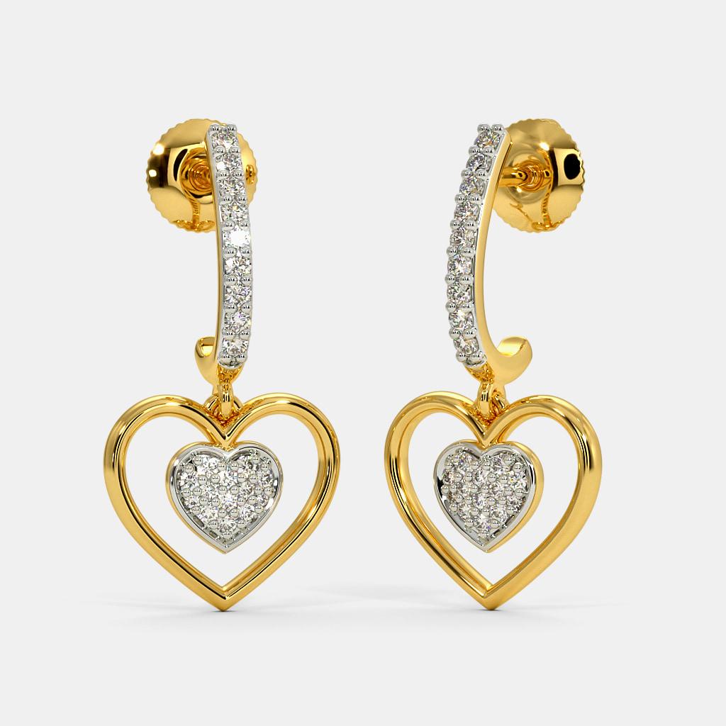 The Clea J Hoop Earrings