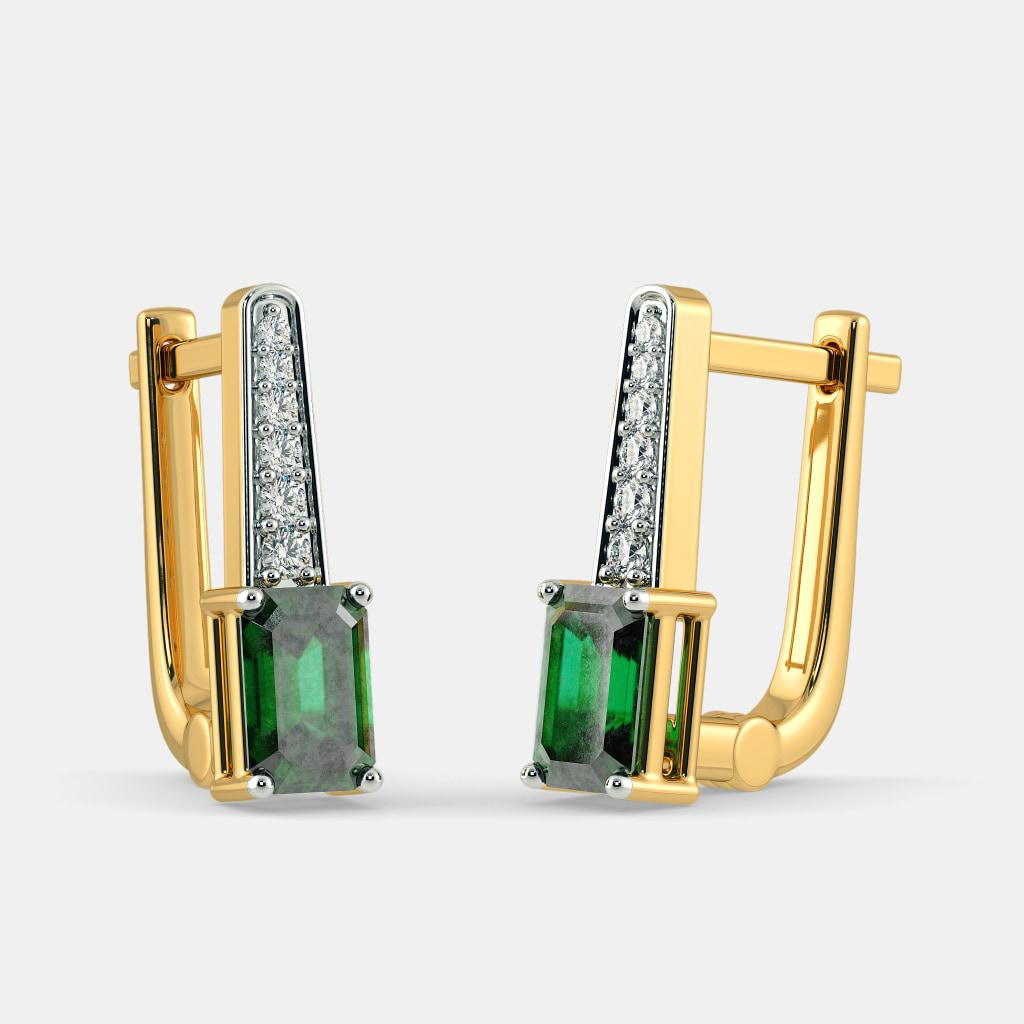 The Rohal Huggie Earrings