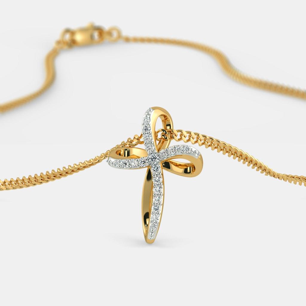 The Tina Cross Pendant