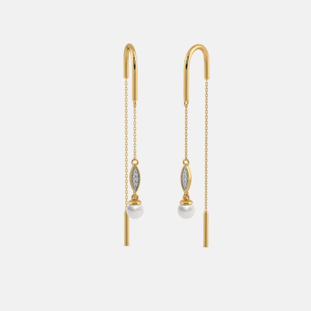 The Reena Sui Dhaga Earrings