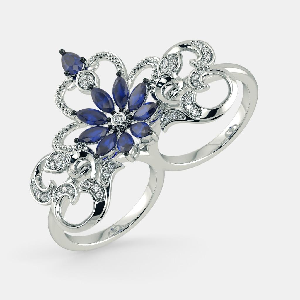 The Shubhika Two Finger Ring