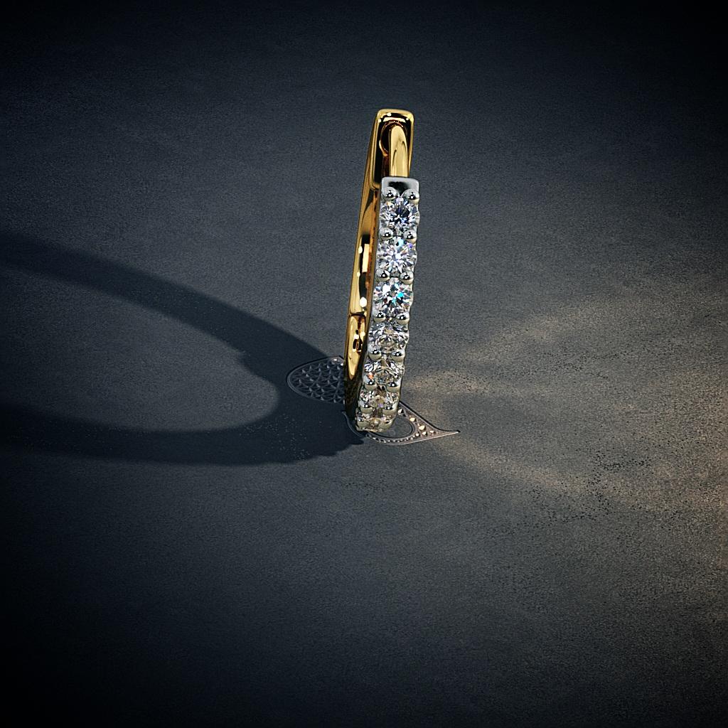 The Aureole Nose Ring Bluestone Com