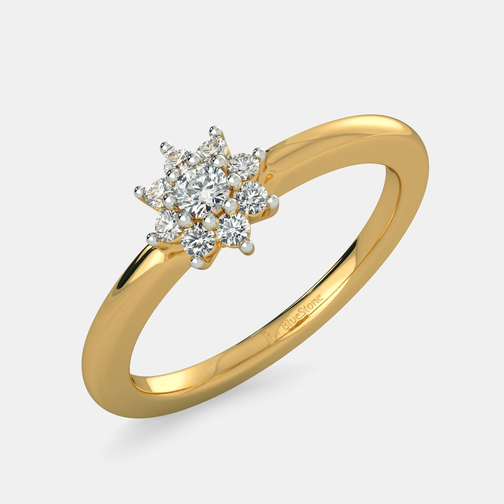 The Single Flora Ring