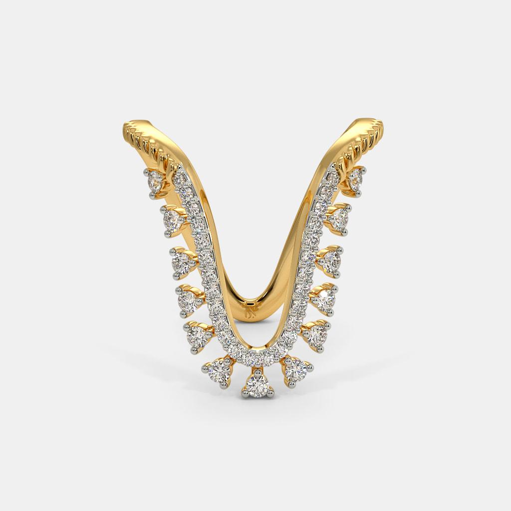 The Nabra Vanki Ring | BlueStone.com