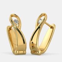 The Pelagia Huggie Earrings