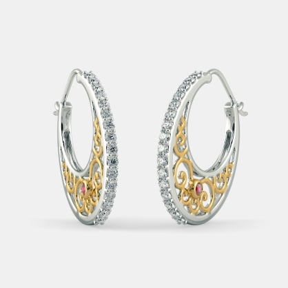 The Ilka Hoop Earrings