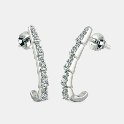 The Selene J Hoop Earrings