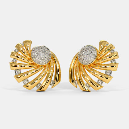 The Mezzo Stud Earrings