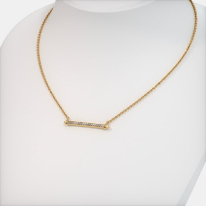 The Isabella Bar Necklace