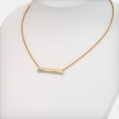 The Gwendolyn Bar Necklace