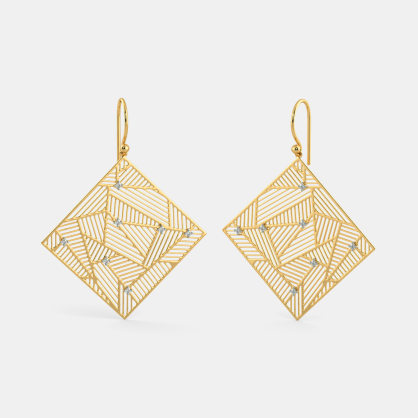 The Swanky Glam Drop Earrings