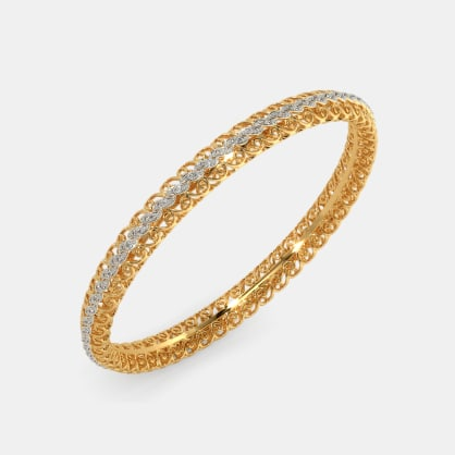 The Aneya Lattice Bangle