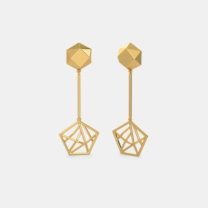 The Aeonic Axis Earrings