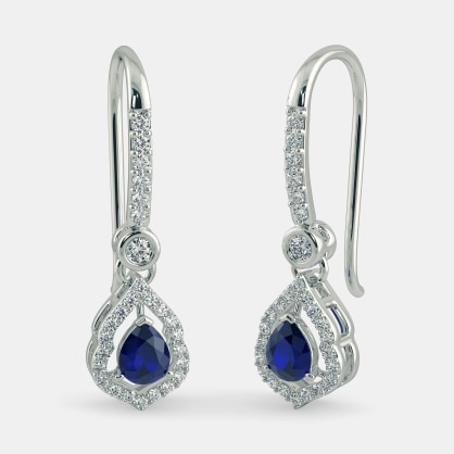 The Ecstatic Foliole Drop Earrings