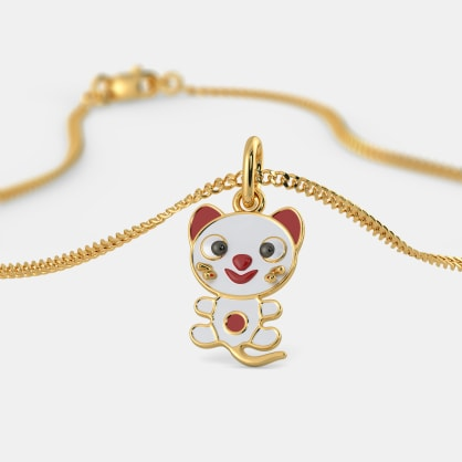 The Mighty Meow Pendant For Kids