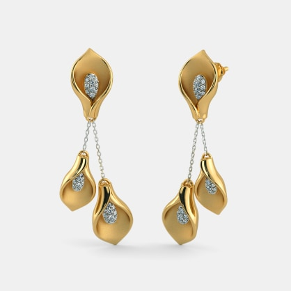 The Ambrosial Tulip Earrings