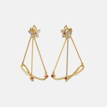 The Bhargavi Hoop Earrings