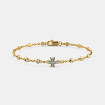 The Deborah Cross Bracelet