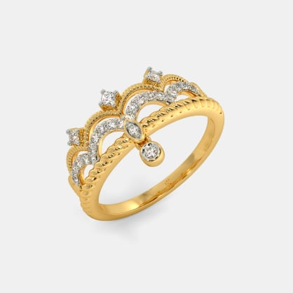 The Alcinia Crown Ring