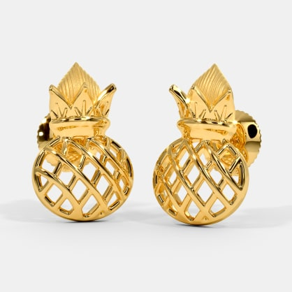 The Rucha Kalash Stud Earrings