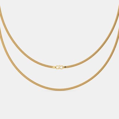 The Adhamya Gold Chain