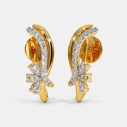 The Hyma J Hoop Earrings