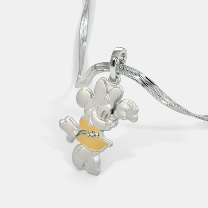 The Cute Minnie Pendant For Kids