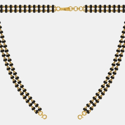 The Mangalsutra Double Line Open Chain With Lock