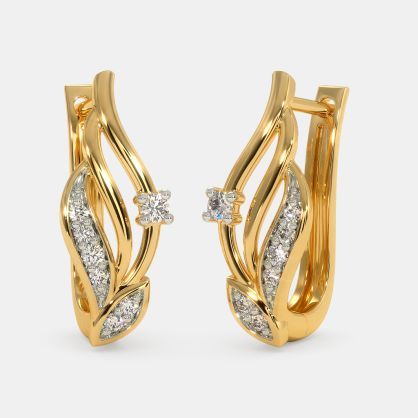 Gold Earrings Buy 2750 Gold Earring Designs Online In India 2020 Bluestone Com,Victoria Beckham Designs Wedding Dress