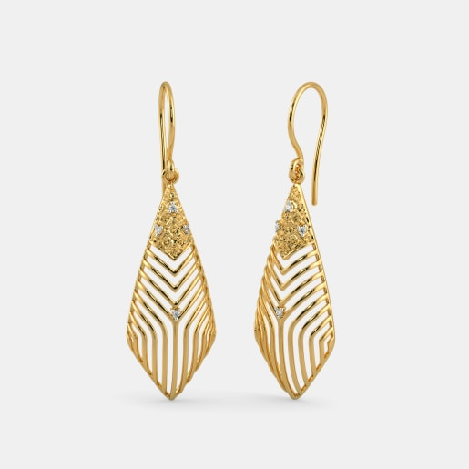 The Deco Dew Drop Earrings