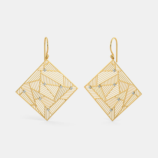 The Swanky Glam Drop Earrings