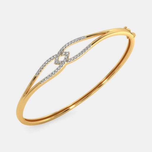 The Estrella Oval Bangle