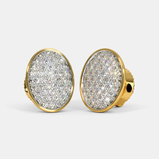 The Valente Pave Stud Earrings