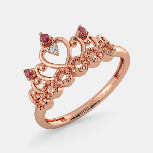 The Amberly Crown Ring