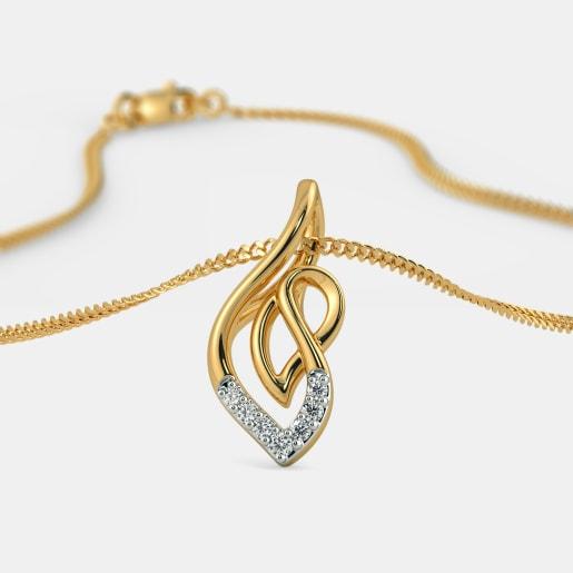 Diamond Pendants - Buy 850+ Diamond Pendant Designs Online in India ... 7afa5b5d0