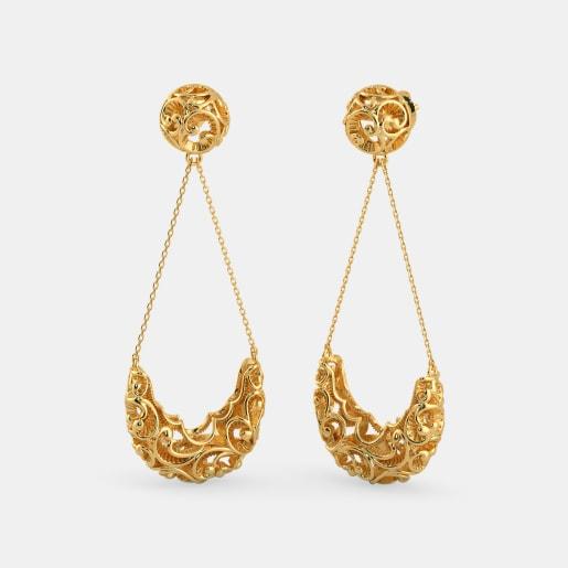 The Kundalika Drop Earrings