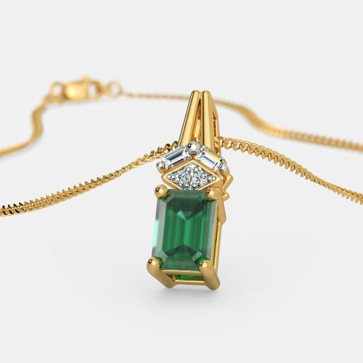 d9bce294838dc Buy 150+ Emerald Jewellery Designs Online in India 2019 | BlueStone.com
